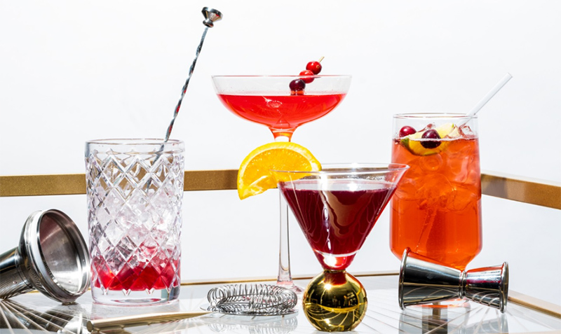 Bluprint Holiday Entertaining Orange-Cranberry Cocktails