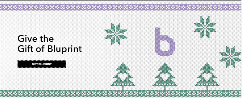 Bluprint: The Gift That KeepsOnCreating
